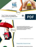 Découvrez les Meilleures compagnies d'assurance hypothécaire au Québec