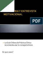 Consejeria y Entrevista Motivacional