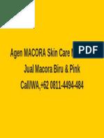 Call +62 0811-4494-484 Agen Macora Skin Care