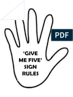Give Me Five Rules