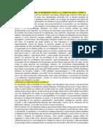 Capítulo 1 Historia e Introducción a La Psicología Clínica