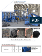 3Ton Tire Recycling Rubber Powder Plant Xinda 170713