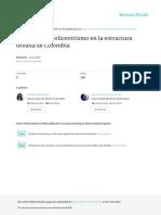 DispersinypolicentrismoenlaestructuraurbanadeColombia