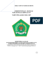 Rencana Kerja Tahunan Madrasah