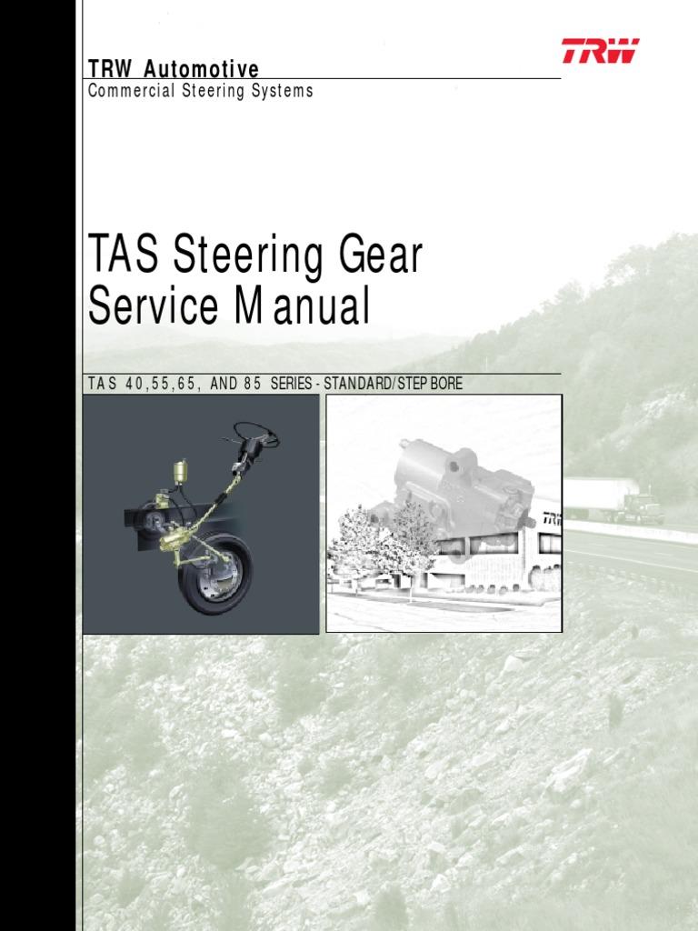 Ross TRW TAS55 Steering Gear Rebuild Kit TAS-55