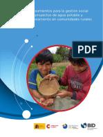 Lineamientos Para La Gestion Social en Proyectos de Agua Potable y Saneamiento en Comunidades Rurales