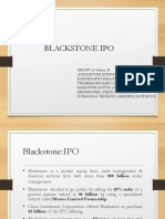 Blackstone IPO Group 13