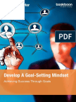 Develop a Goal Setting Mindset