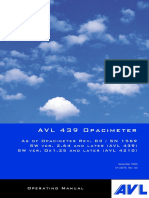 AVL 439 Opacimeter Operating Manual