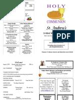 St Andrews Bulletin 080518