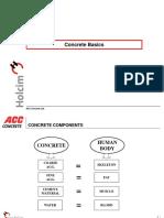 Basics of Concrete ACCCL