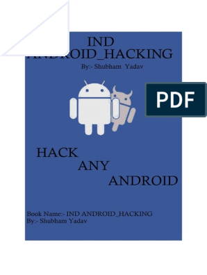 IND ANDROID_HACKING By:- Shubham Yadav | Command Line Interface