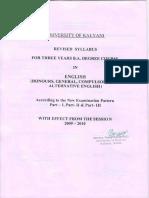 English(H&Gen)Revised SyllabusModified
