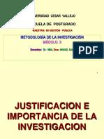 Justificación-Objetivos-Hipótesis