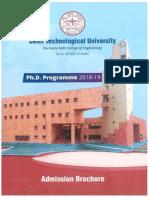 DTU Brochure