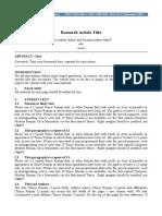 Manuscript Format (1)