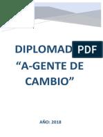 Estructura Del Diplomado a Gente de Cambio 2018
