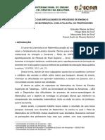 DIAGNÓSTICO DAS DIFICULDADES DO PROCESSO DE ENSINO E APRENDIZAGEM DE MATEMÁTICA