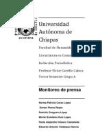 Análisis del periódico La Crónica