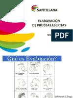ELABORACION de Pruebas Escritas - Imprimir