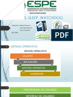 Rtos, Sleep, Watchdog