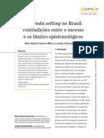 A AGENDA SETTING NO BRASIL. MAIA & AGNEZ.pdf