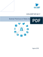Informe del CNI sobre el uso de redes sociales