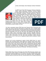 Budiman Sudjatmiko Sarankan Kemendagri Untuk Meninjau Kembali Pembatalan RPJMDes