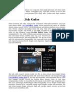 LiveChat BitBola Online