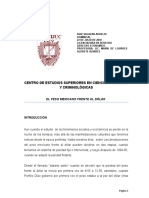 EL PESO FRENTE AL DOLAR.doc