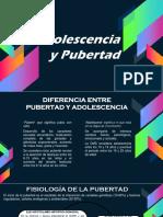 Adolescencia y Pubertad