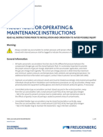 FST Accumulator Operating Maintenance Instructions