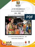 Plan de Desarrollo Quibdó 2016-2019
