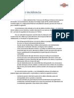 Informe de Incidencia Calderas Calaceite