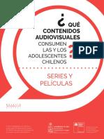Qué contenidos audiovisuales consumen las y los adolescentes chilenos