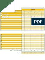 Registro de Evaluación Matemática Segundo Grado v1
