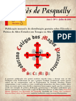 Revista Martinès de Pasqually - Primeira Edição