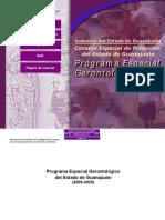 Gerontología, programa Guanajuato