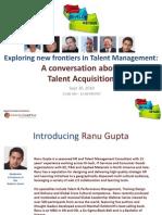Talent Acquisition Webinar Sept 30, 2010 v5