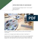 Mengecat Plastik dengan Tekstur Kayu