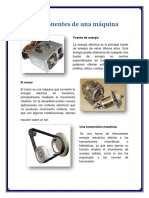 Componentes de Una Máquina