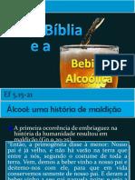A Bíblia e a Bebida Alcoólica