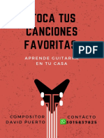 Poster Clases Guitarra