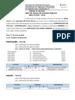 Edital de Convocação Nº 48-2018 Para Comprovação de Títulos Contratação e Distribuição de Aulas - Professores QPM e PSS - Ponta Grossa - 17-05-2018 - ATUALIZADO