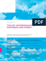 Key Determinants of Happiness and Misery
