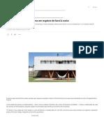 Casa-Varanda Se Transforma Em Espécie de Farol à Noite _ Arquitetura e Construção