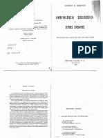 94071170 R K Merton El Analisis Estructural en Sociologia