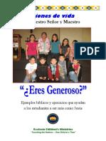 Generosidad S.B