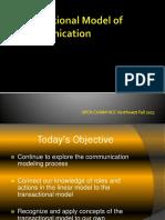 ARaynorTransactional Model of Communication.pptx