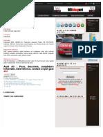 Proprietar AUDI A3 cauta inlocuitor